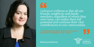 Image and quote about wellness