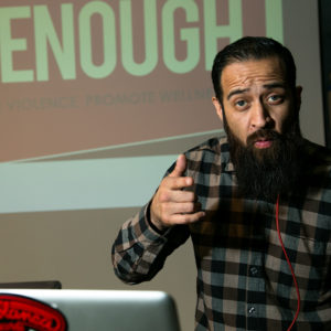 """Dj Antiq performs at the """"Enough! Stop Violence, Promote Wellness"""" Summit"""